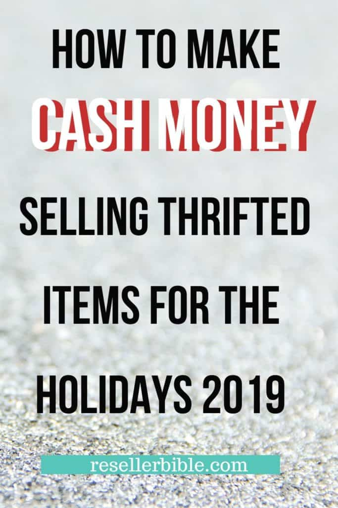 how to make money selling thrift holidays