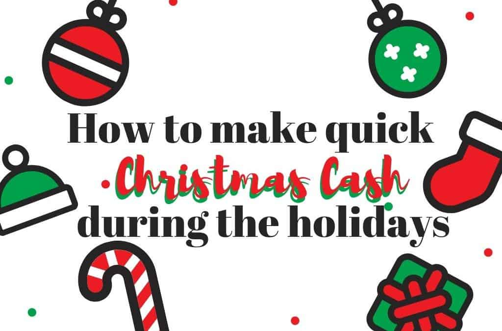 How to make quick Christmas cash selling thrifted items