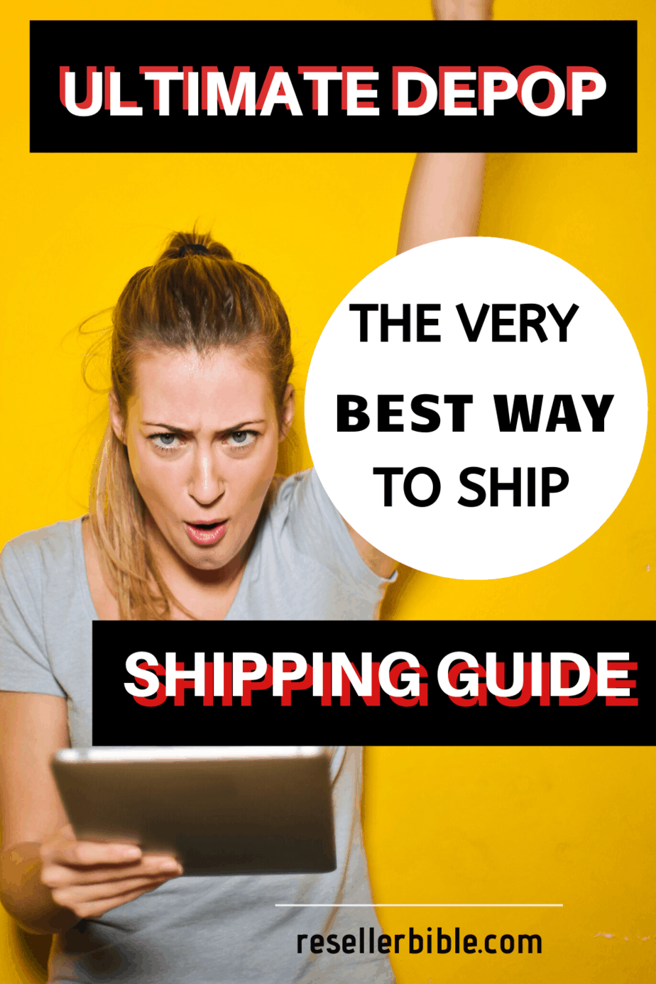 excited women-ultimate depop shipping guide
