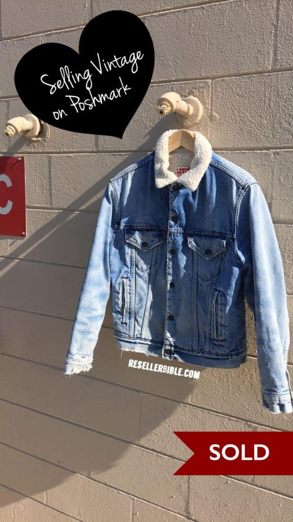 vintage poshmark levi trucker jacket
