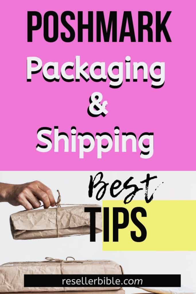 poshmark shipping and packaging tips