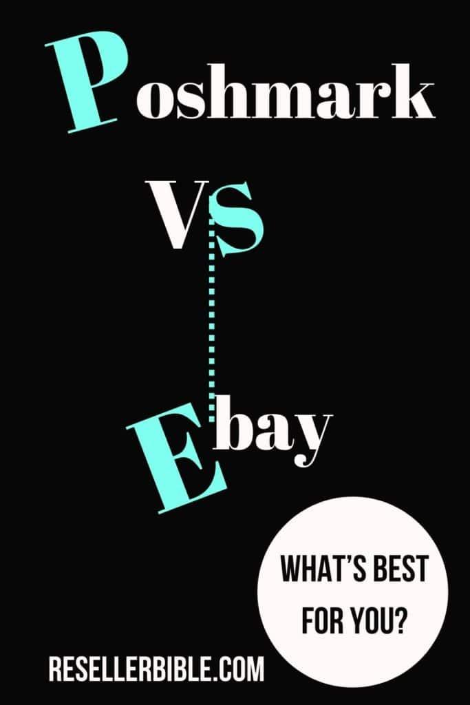 Poshmark vs eBay