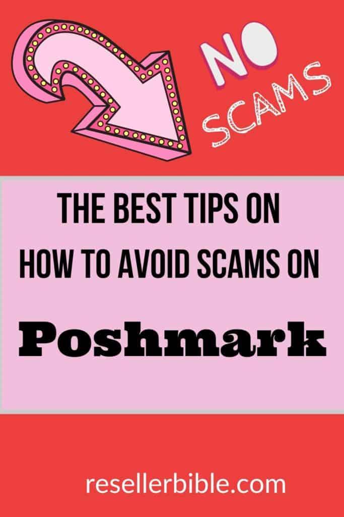 poshmark scams tips
