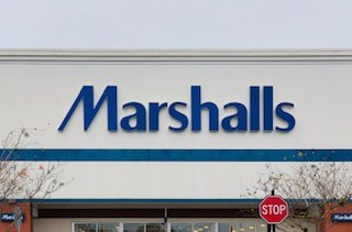 marshalls front of building