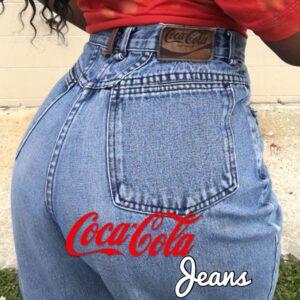 coco cola jeans depop explore page