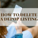 How to delete a listing on Depop