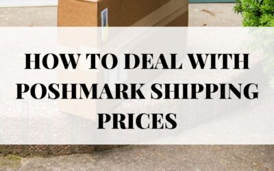 How to deal with Poshmark shipping prices!