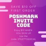 poshmark invite code