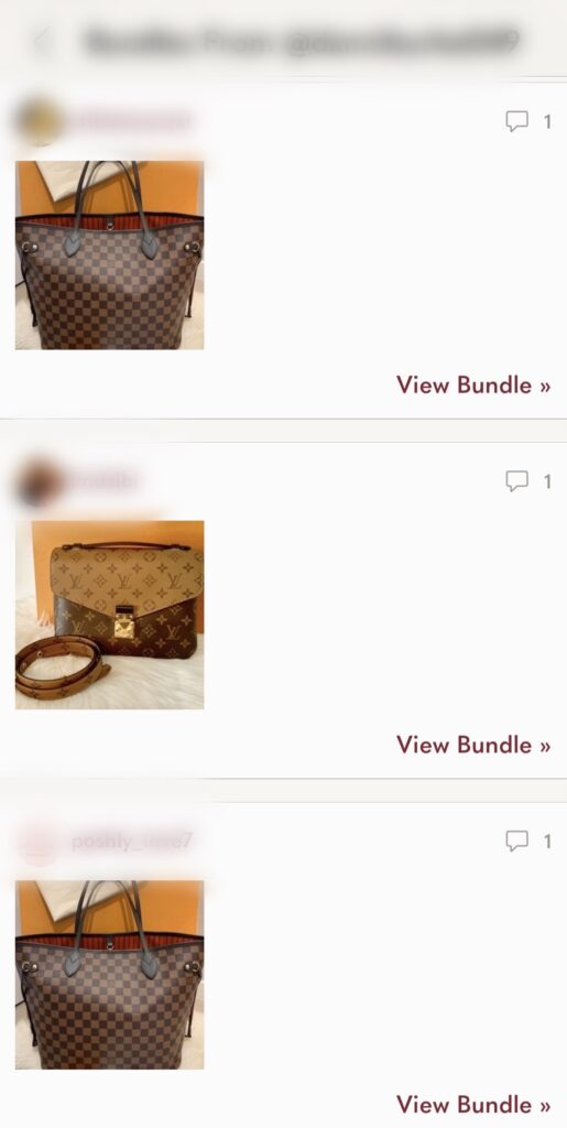 Poshmark private messages